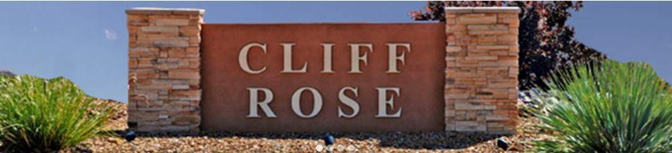 Cliff Rose